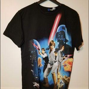 Mens Star Wars T Shirt Size Medium Pre-Owned